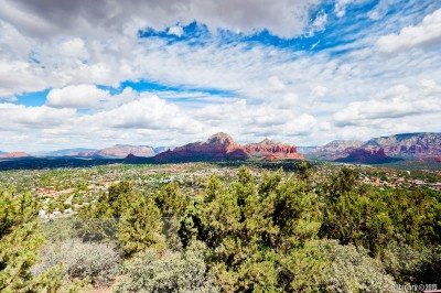 Sedona from the top.