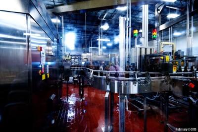 Bottling plant.
