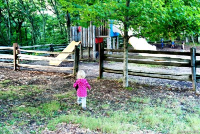 Playground at Big Meadows Lodge.
