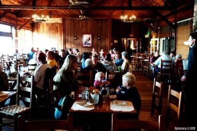 Dinner at Big Meadows Lodge.