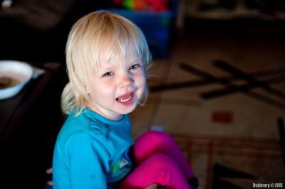 Анюта, улыбайся!