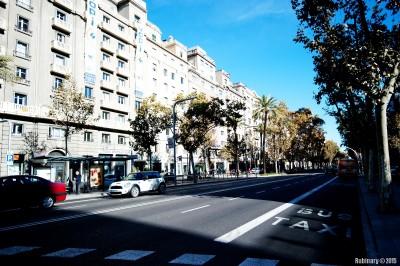 Avinguda Diagonal. Barcelona.