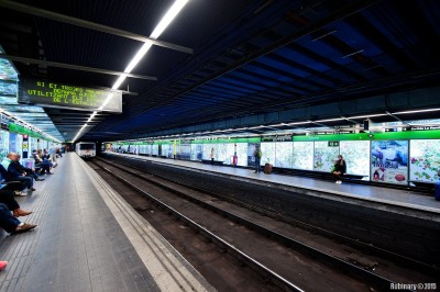 Barcelona Subway.