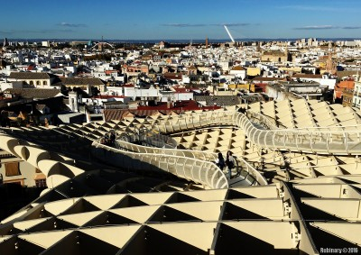 Views from the top of Metropol Parasol.