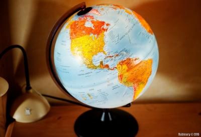 Arosha's globe.