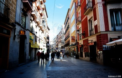 Streets of Madrid.