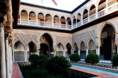 Alcázar of Seville.