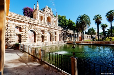 Alcázar of Seville. Dorne from Game of Thrones.