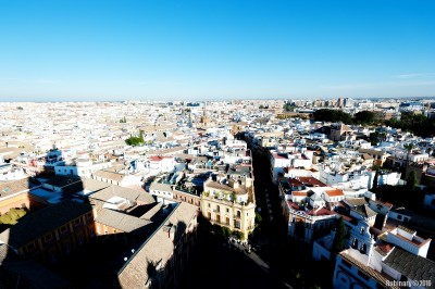 Seville from the top.