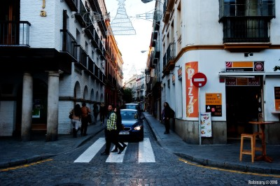 Streets of Seville.