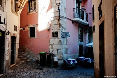 Streets of Lisboa.