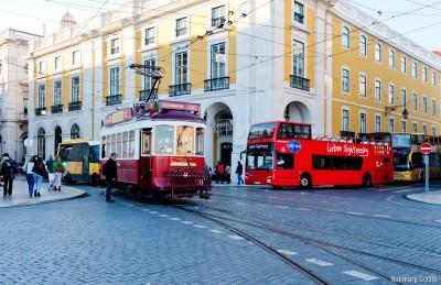 Streets of Lisbon.