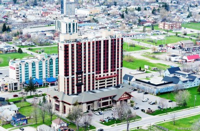 Our hotel. DoubleTree Fallsview Resort and Spa.