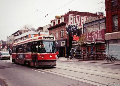 Toronto trams.