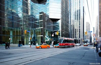 Streets of Toronto.