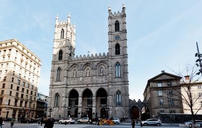 Basilique Notre-Dame de Montréal.