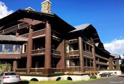 Glacier Park Lodge.