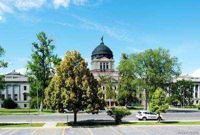 Helena. Montana State capitol.