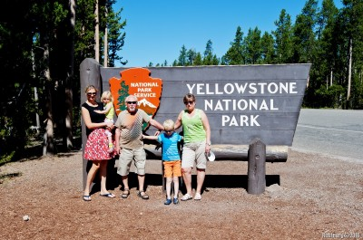 Yellowstone sign.