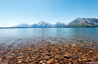From Jackson Lake.