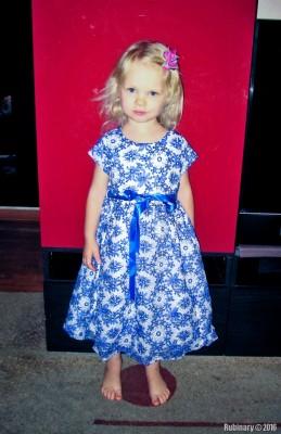 Birthday dress.