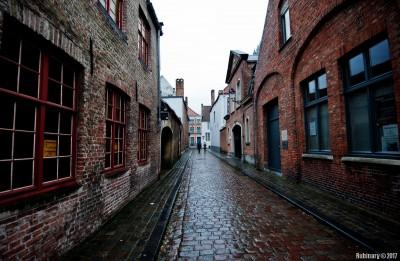 Streets of Bruges.