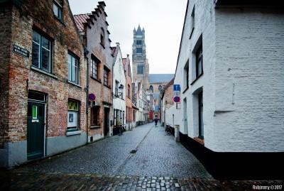 Street of Bruges.