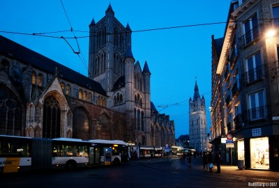 Ghent's main square.