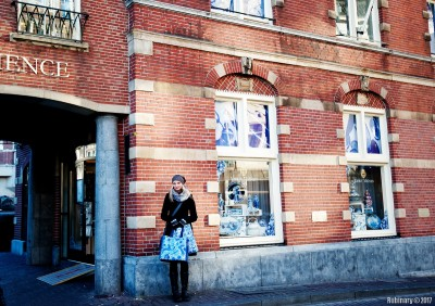 By Delft shop.