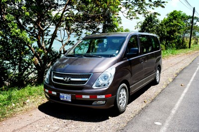 Our van. Hyundai H1.