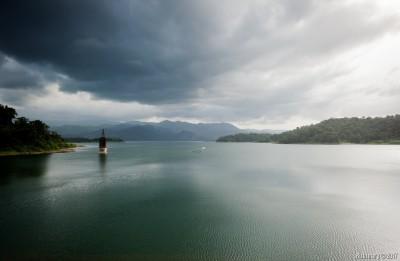 Lago Arenal dam.