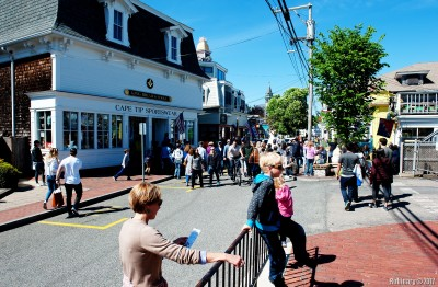 Streets of Provincetown.