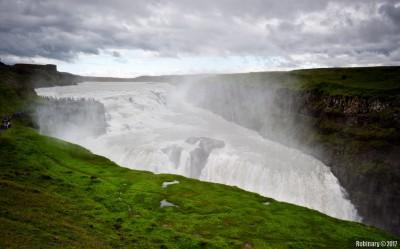 Gullfoss Falls.