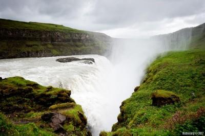 Gulffoss Falls.