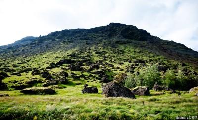 Iceland landscapes.