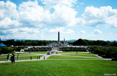 The Vigeland Park.