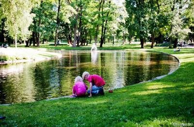 Slottsparken -- Palace Park.