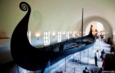 Viking Ship. This one is approximately 1,200 years old.