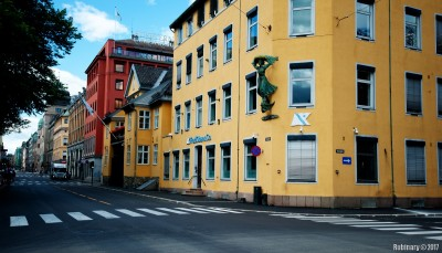 Streets of Oslo.