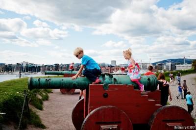 At Akershus Fortress.