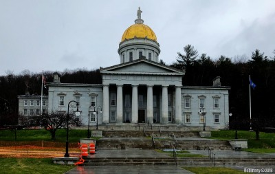 Vermont capitol building at Montpelier.
