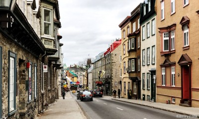 Streets of Quebec City.