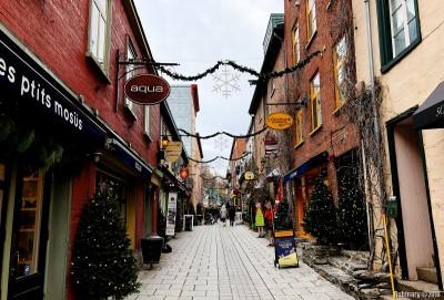 Rue du Petit Champlain.