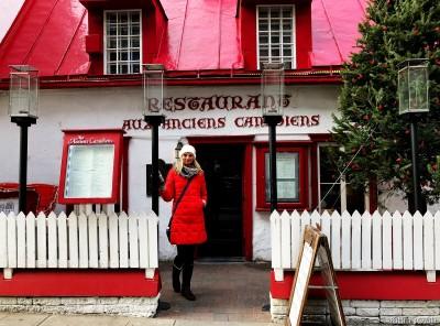 Restaurant Aux Anciens Canadiens.
