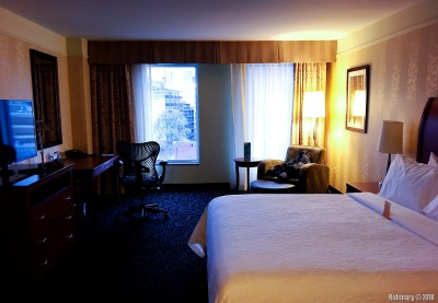 Our room in Montreal.