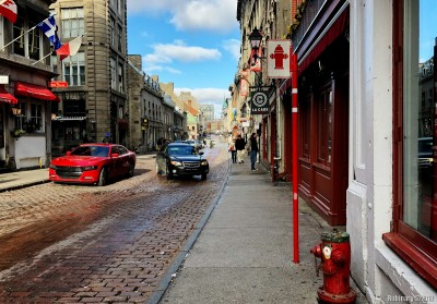 Streets of Montreal.