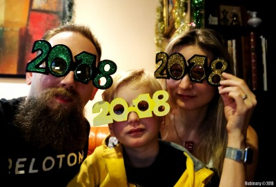 Silly 2018 glasses.