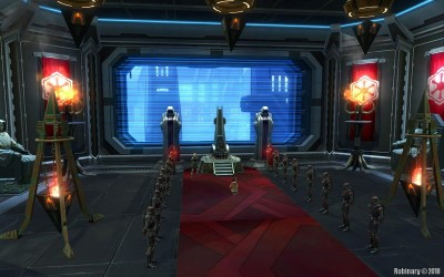 Imperial Throne Hall on Dromund Kaas.