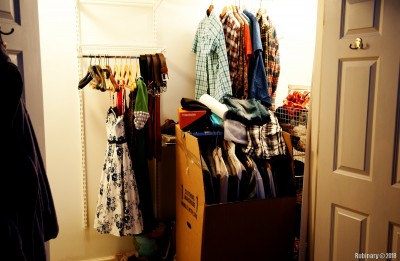 Master closet. Original form. Separate post for transformation is coming.