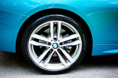 19 inch wheels with M logo.
